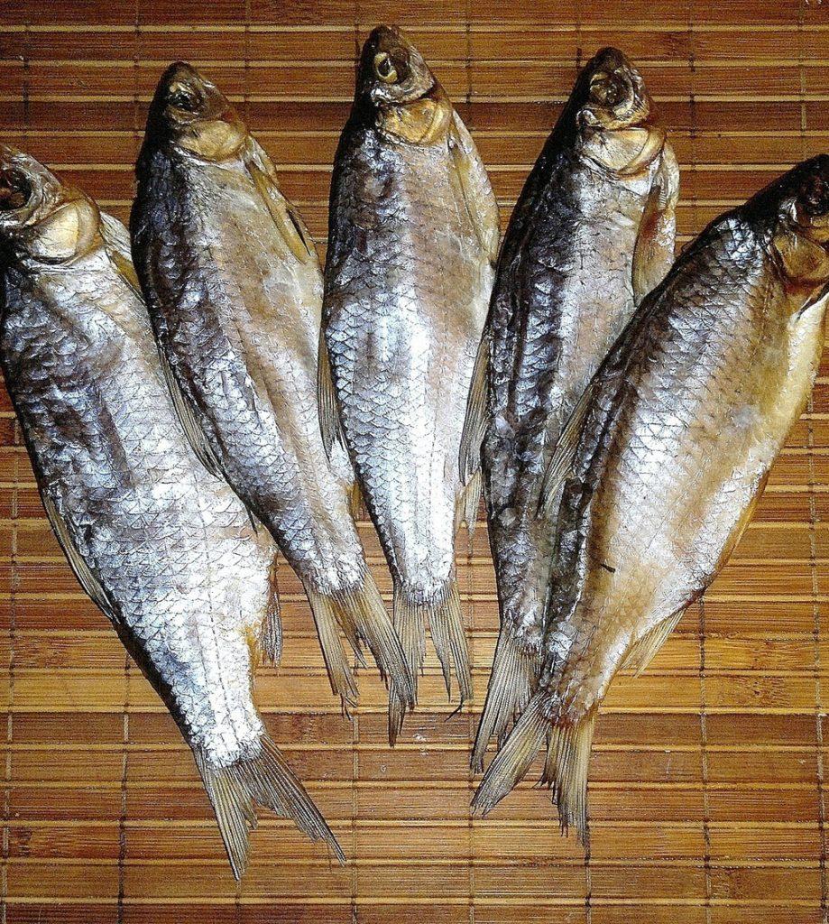 Вкусная вяленая рыба